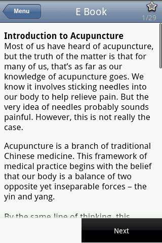Acupuncture: Ancient Healing