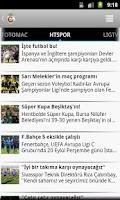 Screenshot of Galatasaray Haber