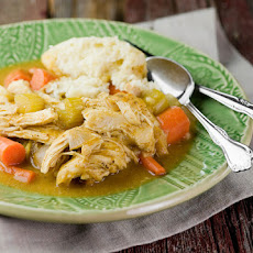 Slow Cooker Chicken and Dumplings