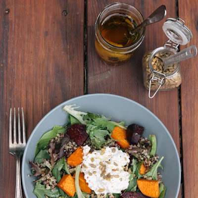 Annalise's Quinoa and Roasted Vegetable Salad