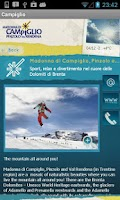Screenshot of Campiglio App - Dolomites