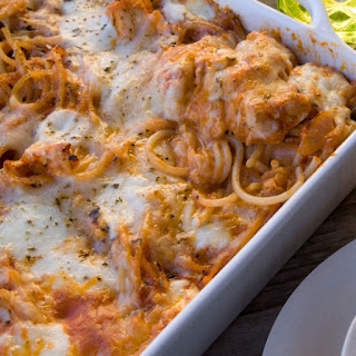 Turkey Spaghetti Bake