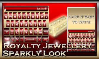 Screenshot of SlideIT Royalty Jewellery Skin