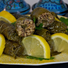 Whole-Grain Stuffed Grape Leaves