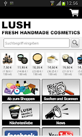 Screenshot of LUSH Kosmetik