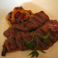 Peppered Skirt Steak