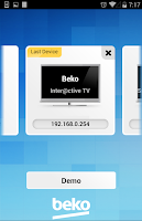 Screenshot of Beko TV Remote