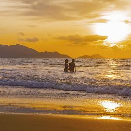 Romantis by Andi Soegiri - Landscapes Beaches