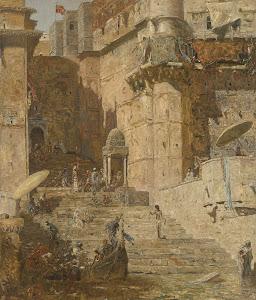 RIJKS: Marius Bauer: painting 1913