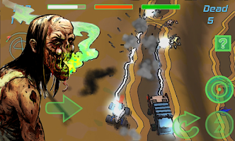Screenshot of Breaking Dead - Zombie Racer