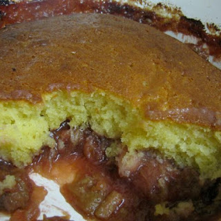 Rhubarb And Apple Sponge Pudding