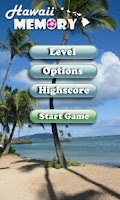 Screenshot of Hawaii Memory Game PRO