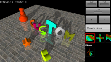 Screenshot of ModelAN3D : 3D paint & AR