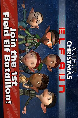 Arthur Christmas: Elf Run