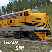Game Train Sim version 2015 APK