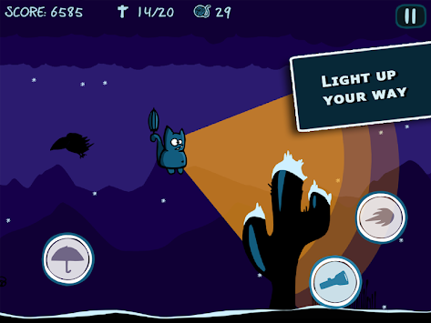 Bronko Blue, the kitten copter apk screenshot