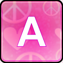 Pink Love Keyboard Skin icon