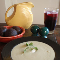 Cold Avocado Soup: Sopa De Aguacate