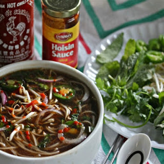 Slow Cooker Pho With Eye of Round