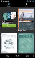 Screenshot of Mechanical Engineering Mag