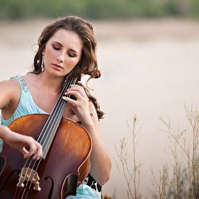 by Melissa Papaj - People Musicians & Entertainers ( girl, female, teen, woman, musician, instrument, cello, object, musical )