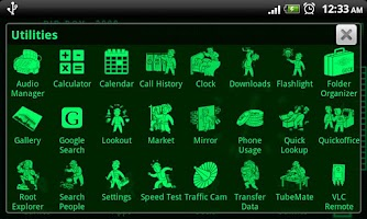 Screenshot of PipBoy 3000 Fallout 3 Theme