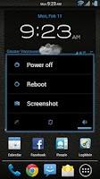 Screenshot of Leather Blue CM11/AOKP Theme