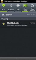 Screenshot of Flashlight Mini