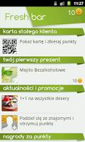 Screenshot of FreshBar