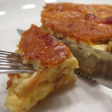Bacon, Onion And Apple Quiche