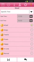 Screenshot of Mobile Mens Calendar