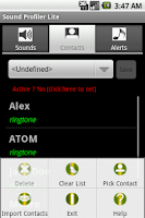 Screenshot of Sound Profiler Pro