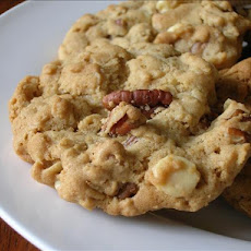 Pecan White Chocolate Chip Cookies