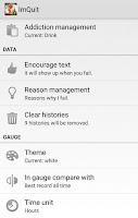 Screenshot of ImQuit - Quit addiction