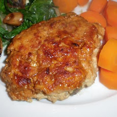 Ground Chicken Ranch Burger