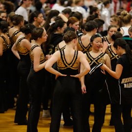 Regional Dance Finals by Nancy Merolle - News & Events Sports ( finals, hs, girls, event, teenagers, dance, regionals, competition )