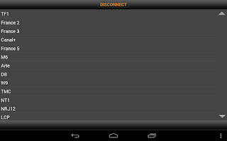 Screenshot of My VODOBOX Android Server