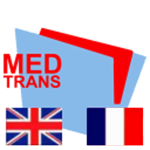 english-french-MedTrans LOGO-APP點子