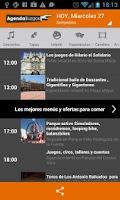 Screenshot of Agenda Burgos