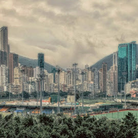 HKG Race Track 2015 by Gary Chin - City,  Street & Park  Skylines