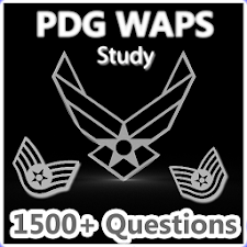 Air Force PDG WAPS Flashcards