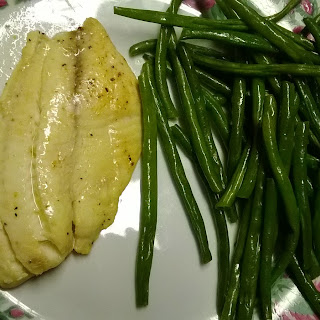 Easy Lemon Pepper Fish & Green Beans