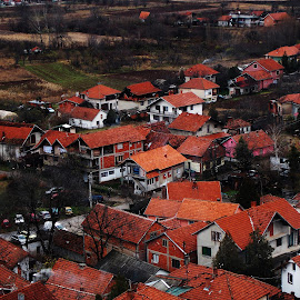 Kuće male krečene u belo by Andrijana Ignjatovic - Buildings & Architecture Homes ( roof, houses, serbia, nis, roofs, architecture, niska banja )