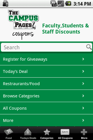 The Campus Pages