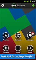 Screenshot of PHONE for Google Voice & GTalk