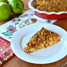 Passover Apple Pecan Pie