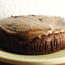 Chocolate & Beetroot Brownie Cake with Chocolate Frosting