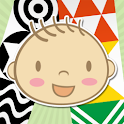 Baby first book icon