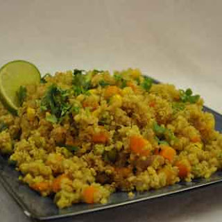 Home » Rice Dishes » Quinoa Pulao