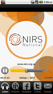 NIRS National - screenshot